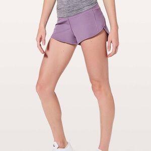 Purple Speed Up Shorts 2.5 Inseam